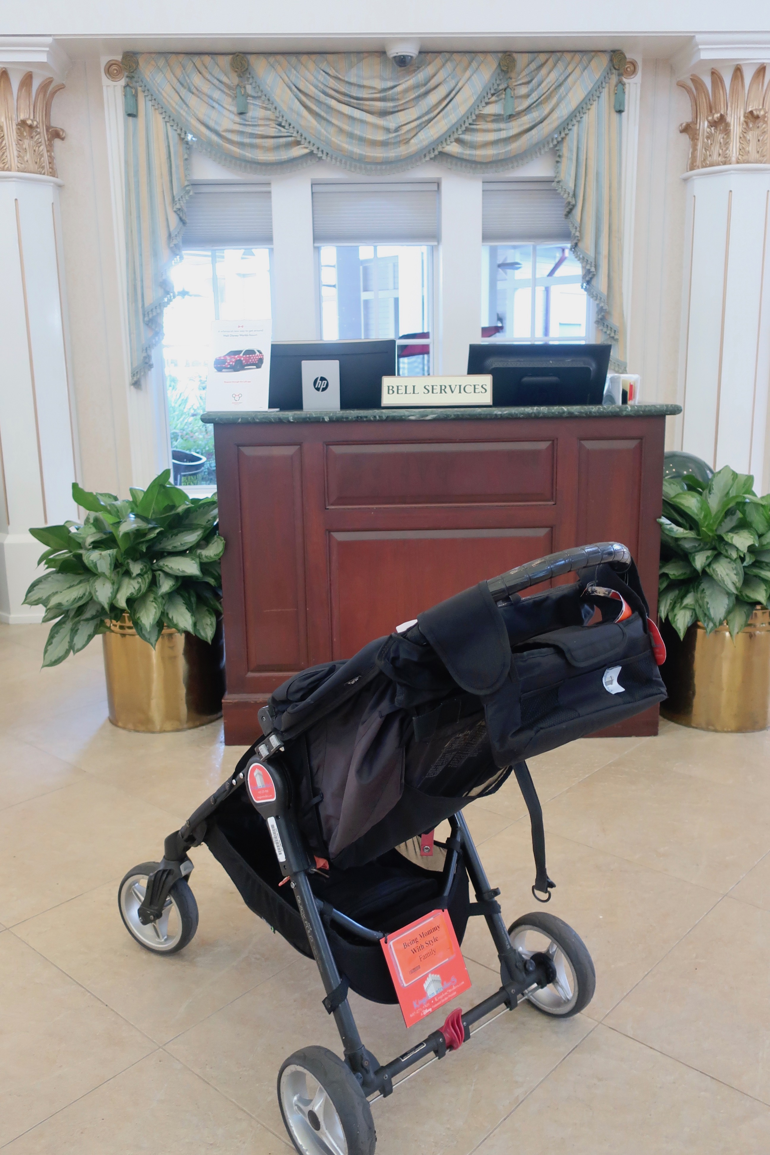 Stroller at Bell Services
