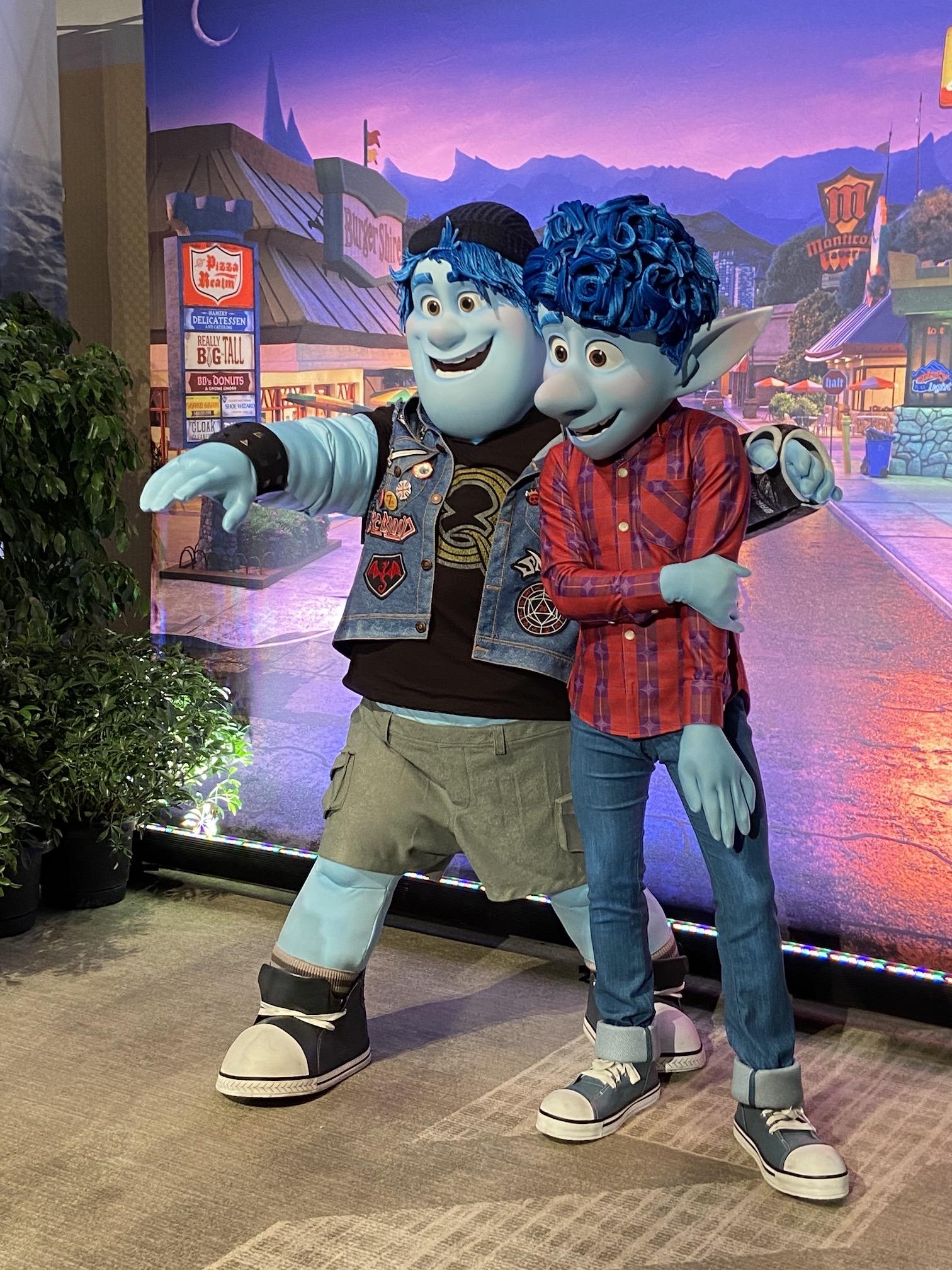 Ian and Barley Pixar Onward