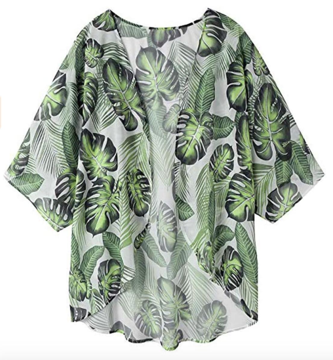 Amazon Finds: Palm Kimono