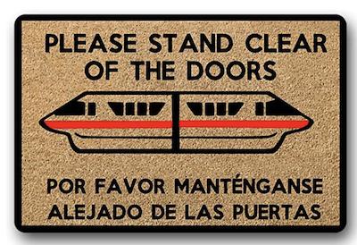 Monorail Door Mat