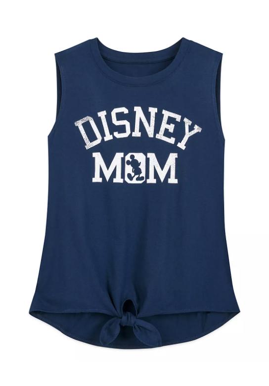 Disney Mom Navy Tank