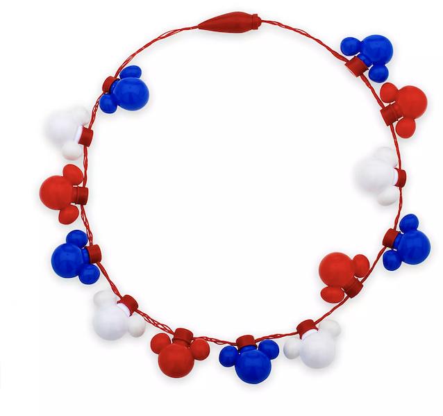 Mickey Light Up Necklace