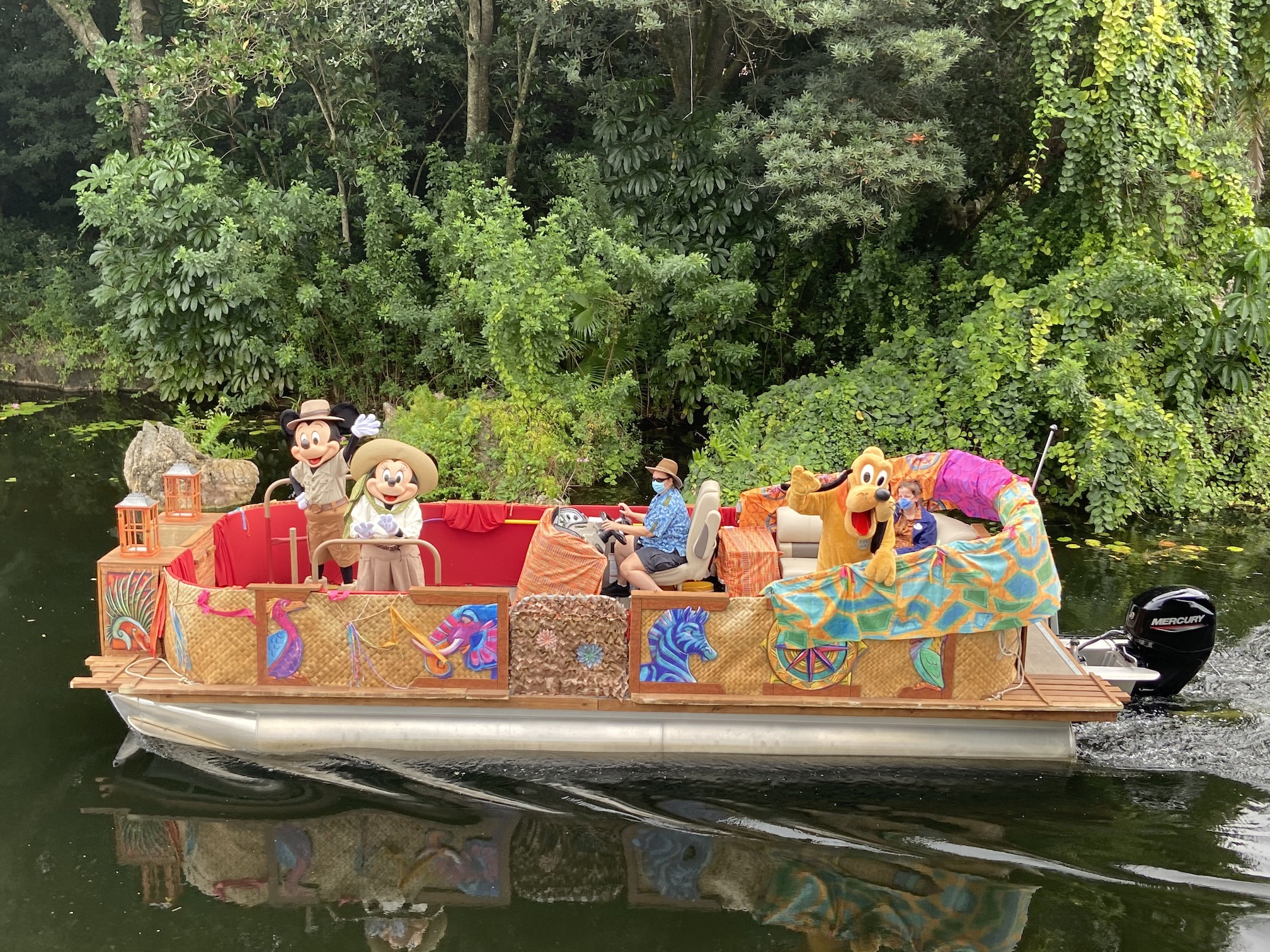 Character Float at Animal Kingdom