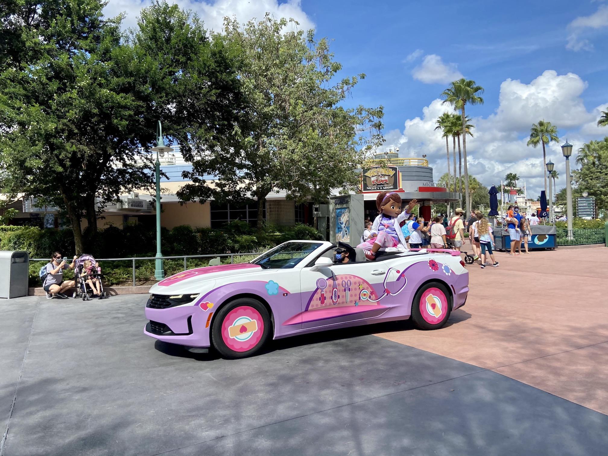 Doc McStuffins at Disney's Hollywood Studios