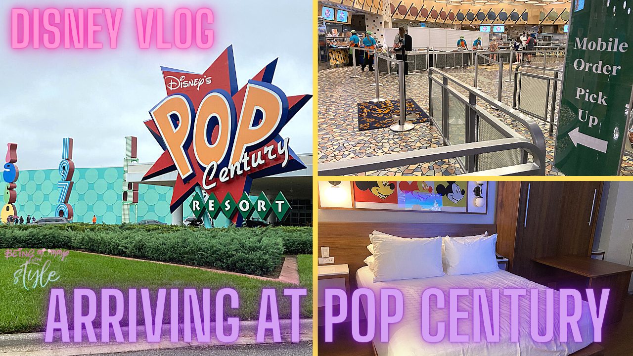 Arriving at Pop Century