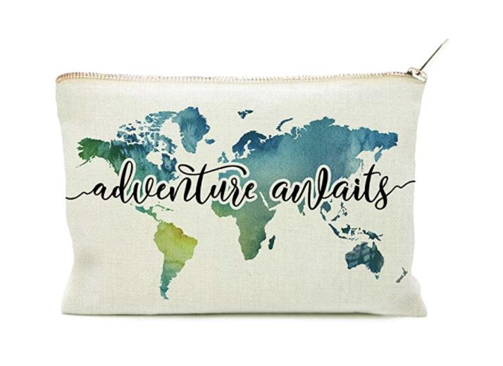 Adventure Awaits pouch
