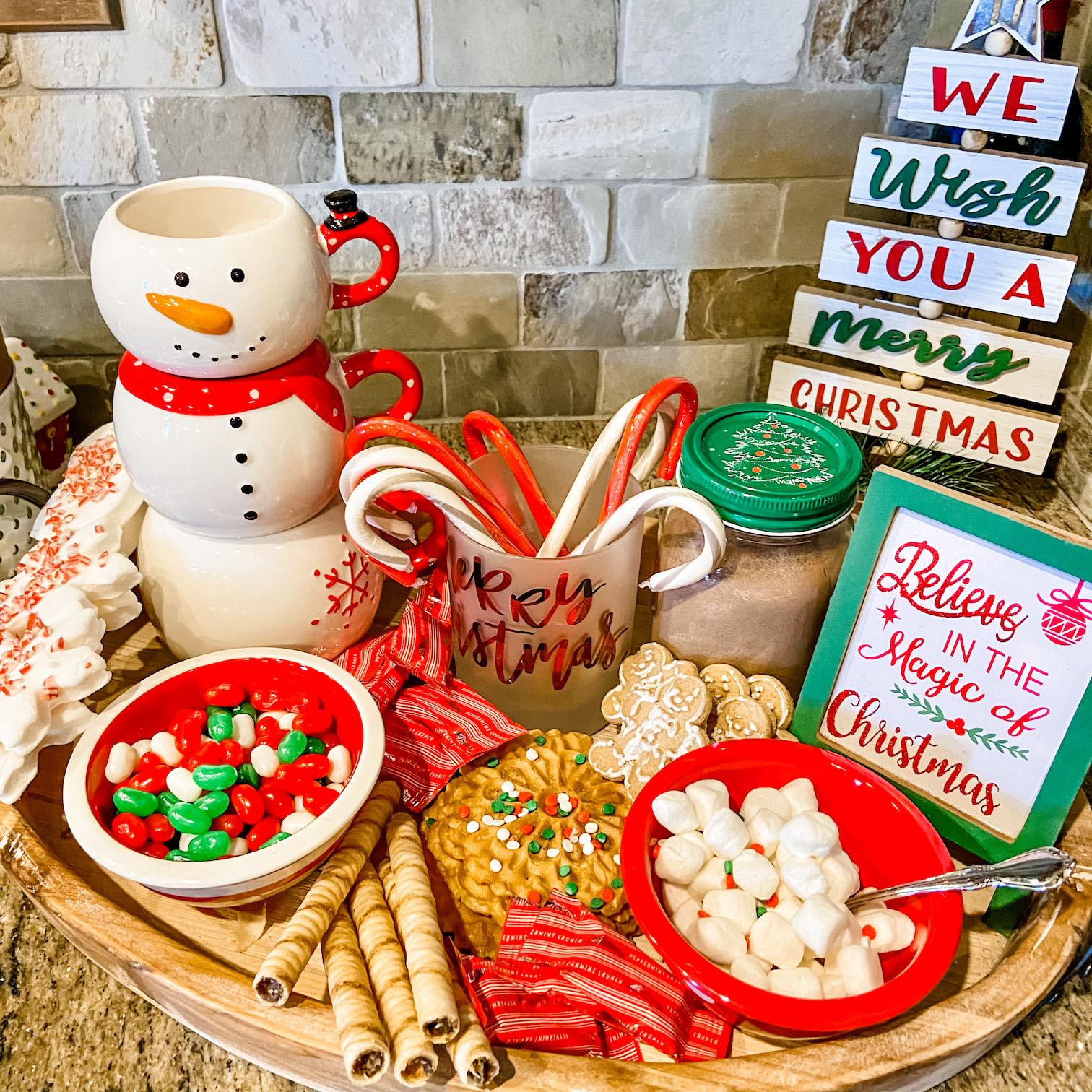Holiday Dessert Tray