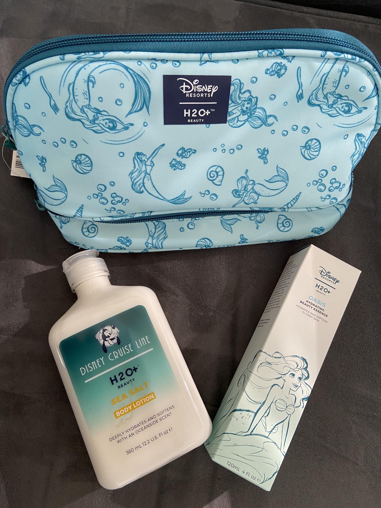 H2O Disney Beauty Items
