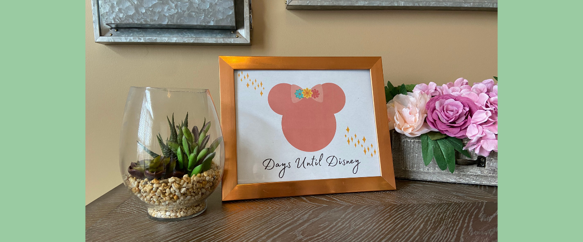 Disney Countdown Printable Pages