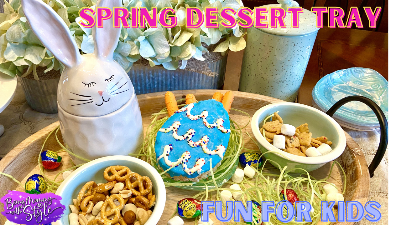 Easter Tray Fun Activities for Kids